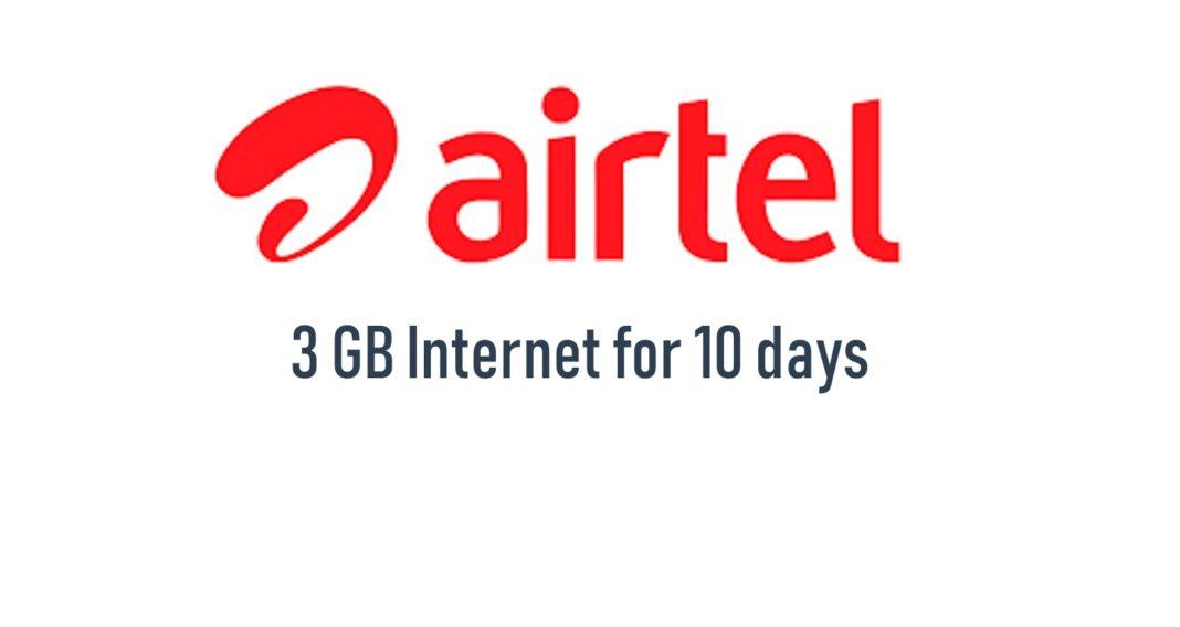 airtel 3gb internet